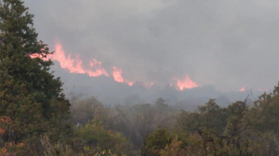 Μεγάλη πυρκαγιά νότια της Ισπανίας