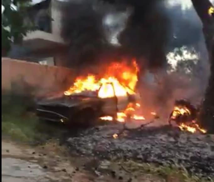 Πυρκαγιά στη περιοχή της Αγία Κυριακή Σπάτων
