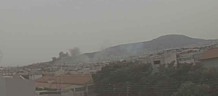 Πυρκαγιά στην περιοχή 40 Μάρτυρες Αττικής