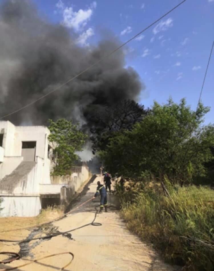 Φωτογραφικό υλικό απο την πυρκαγιά στην Άνοιξη