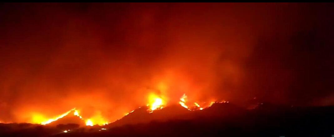 Μεγάλη πυρκαγιά στην Αργεντινή