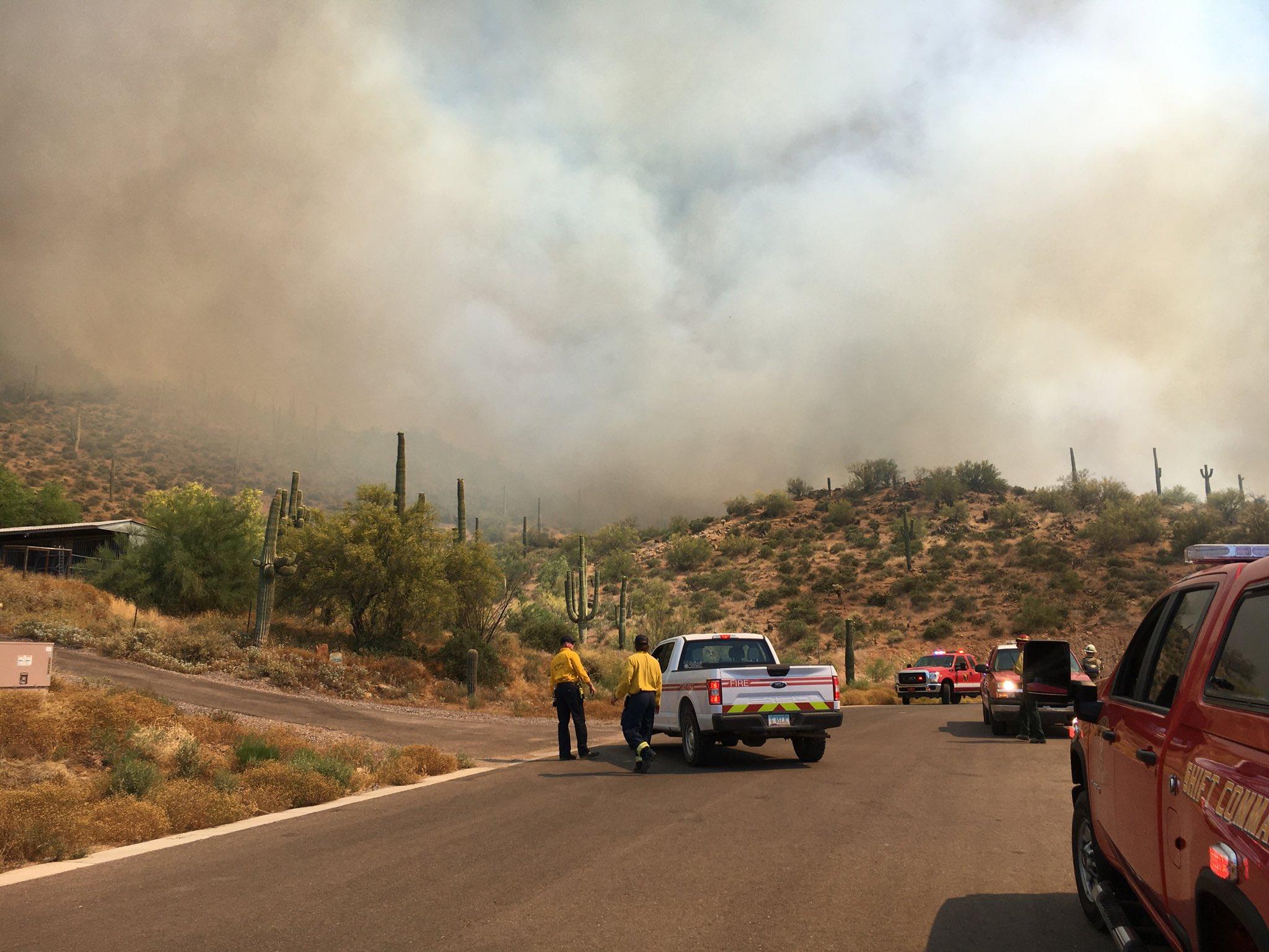 Μεγάλη πυρκαγιά στην Αριζόνα των ΗΠΑ