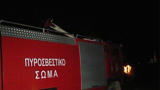 Πάτρα: Φωτιά σε ακατοίκητη οικία Σμύρνης και Ιωνίας