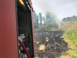 Πυρκαγιά στα Αμπάρια Παναιτωλίου
