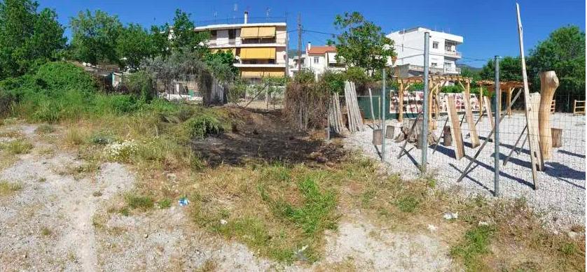 Μικρής έκτασης πυρκαγιά σε οικόπεδο στον περιφερειακό Βόλου