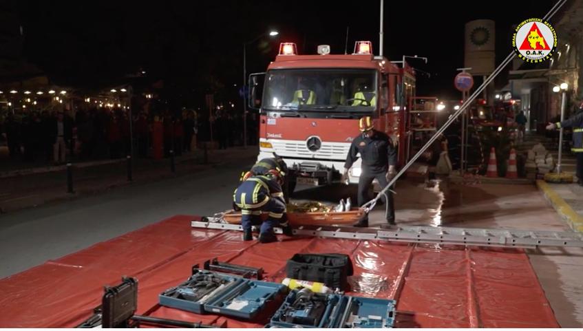 Συμμετοχή της Ο.Α.Κ. 4Χ4 ΜΕΣΣΗΝΙΑΣ στην Άσκηση Σεισμού Σεισίχθων 2020 στην Καλαμάτα