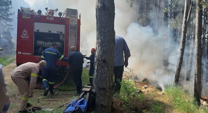 Τώρα: Μεγάλη πυρκαγιά στο Δεμάτι Ιωαννίνων