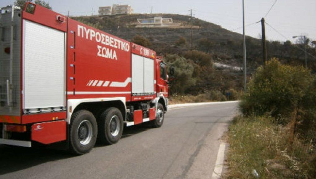 Πυρκαγιά στην περιοχή του Μπουκαρη Κέρκυρας