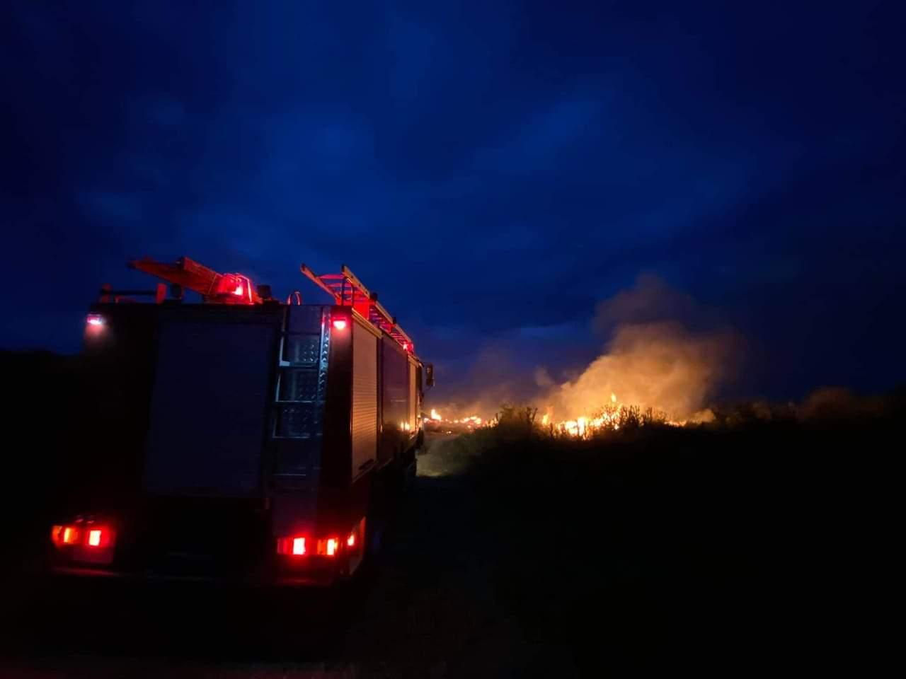 Πυρκαγιά στον Αΐ Λια Χαλκιδικής