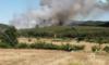 Πυρκαγιά σε δασική έκταση στην Δ.Ε. Σαπών Ροδόπης.