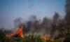 Πυρκαγιά στην Άντισσα στη Δυτική Λέσβο