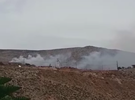Πυρκαγιά σε χωματερή στην Κάλυμνο (Βίντεο)