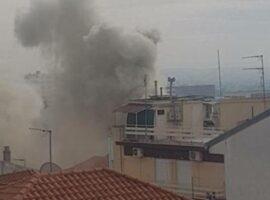Πυρκαγιά σε διώροφη κατοικία στην Κόρινθο