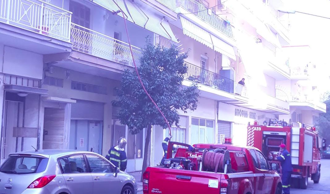 Πυρκαγιά σε διαμέρισμα στο κέντρο της Κατερίνης