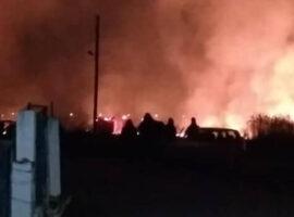 Πυρκαγιά το Άνω Μητρούσι Σερρών μια «ανάσα» από τα πρώτα σπίτια (Φωτο)