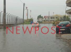 Σοβαρά προβλήματα από την έντονη βροχόπτωση στην Αθήνα