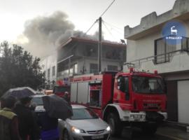 Ρόδος: Πυρκαγιά σε σπίτι εξαιτίας κεραυνού! (βίντεο)