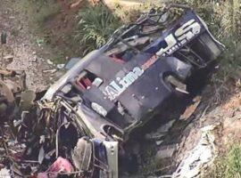 Βραζιλία: 16 οι νεκροί μετά την πτώση λεωφορείου από γέφυρα.(βιντεο)