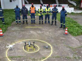 Ο πυροσβέστης Νικόλαος Παπαλεωνίδας – ο «Ίκαρος» της 3ης ΕΜΑΚ Κρήτης μιλάει για τα drones