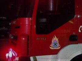 Πυρκαγιά σε ΙΧ τα ξημερώματα στα Χανιά