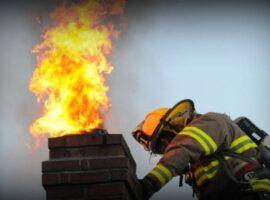 Πυρκαγιά σε καμινάδα στους Κυνοπιάστες