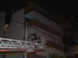 Πυρκαγιά σε διαμέρισμα στο Ηράκλειο Αττικής