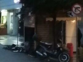 Πυρκαγιά σε περίπτερο στη οδό Ασκληπιού στα Τρίκαλα