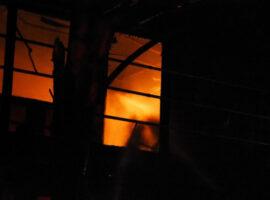 Πυρκαγιά σε υπαίθριο χώρο συνάθροισης στην Χαλκίδα