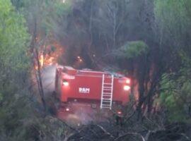 JUMBO TRACK MULTI- Ρίχνει ψηλά δένδρα και σβήνει φωτιά!!!
