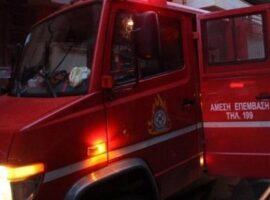 Πυρκαγιά σε οικία στην Κρύα Βρύση Πέλλας