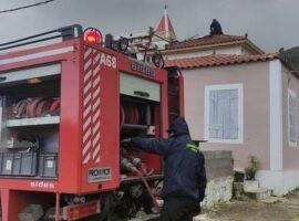 Πυρκαγιά σε οικία στα Πηγαδάκια Ζακύνθου – Άμεση επέμβαση της Πυροσβεστικής (Φώτο)