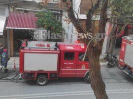 Πυρκαγιά σε κατάστημα εστίασης στο κέντρο των Χανίων (Φώτο)