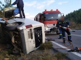 Δυστύχημα Αρκαδία: Δύο νεκροί και ένας τραυματίας σε τροχαίο