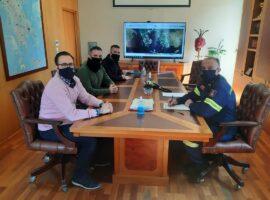 Π.Σ.Σ.Π : Συνάντηση με τον Αρχηγό του Πυροσβεστικού Σώματος Στέφανο Κολοκούρη