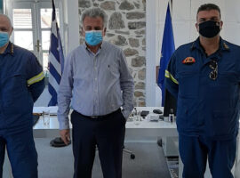 Επίσκεψη του νέου Διοικητή Πυροσβεστικών Υπηρεσιών Αργολίδας στην Ερμιονίδα