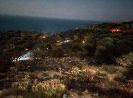 Πυρκαγιά στη περιοχή Κακορεμα Σάμου (Φώτο)