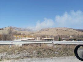 Πυρκαγιά σε χορτολιβαδική έκταση στην Κοζάνη.(φωτο-βιντεο)