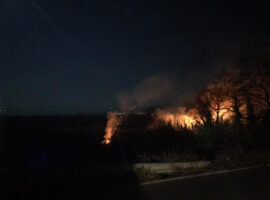 Κινητοποίηση της πυροσβεστικής για πυρκαγιά στα Αμπάρια