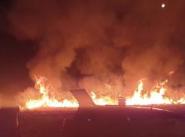 Πυρκαγιά στα Κάτω Βέρβενα Αρκαδίας (Φώτο)