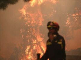 Μεγάλη πυρκαγιά ΤΩΡΑ στο Χειμαδιό Ηλείας