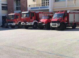 Βόλος: Μεταφέρθηκαν πυροσβέστες και οχήματα υπό τον φόβο του σεισμού