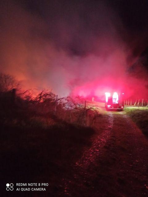 Πυρκαγιά στο Λιτόχωρο Πιερίας (Φώτος απο το συμβάν)
