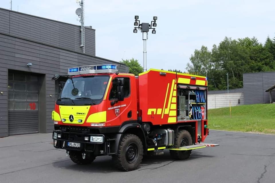 Το πρωτοπόρο πυροσβεστικό Μercedes Unimog TLF 2000