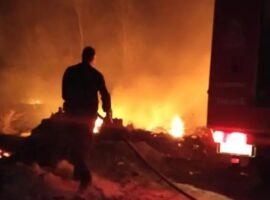 Καστοριά-Πυρκαγιά στο Τοιχιό (φωτο)