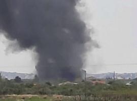 Πυρκαγιά για τρίτη φορά σε εγκαταλελειμμένο συσκευαστήριο στο Ζευγολατιό Κορινθίας