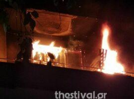 Χαλκιδική: Πυρκαγιά σε beach bar στην Αμμουλιανή
