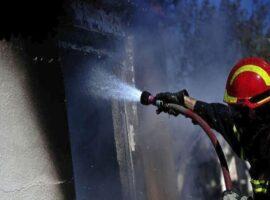 Θεσ/νίκη: Πυρκαγιά σε ψητοπωλείο – Εκκενώθηκε σχολείο