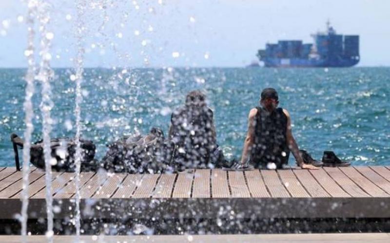 Θεσσαλονίκη καιρός καύσωνας