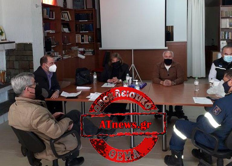 ΚΙΝΕΤΑ- Σύσκεψη Τοπικών Φορέων, Δημοτικής αρχής, & Πυροσβεστικής