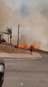 Κύπρος-Μεγάλη πυρκαγιά στην Επισκοπή.(φωτο-βιντεο)